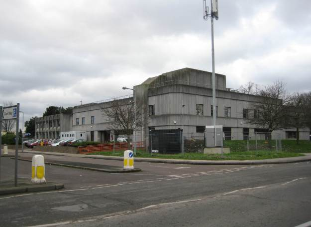 Barkingside Magistrates Court - even uglier than Barnardo's HQ down the road.