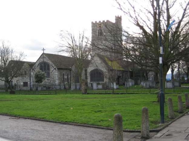 Bell Ringers Go Mad in St Margaret's, Barking.