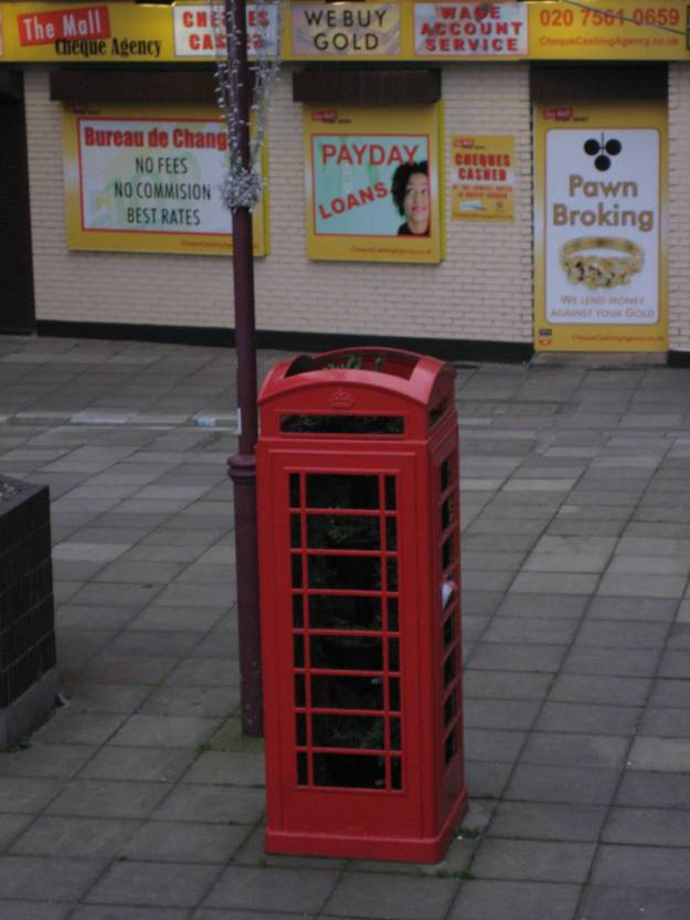 It's no good as a public phone - but is it 'Art'?