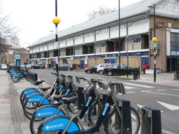 Competition Time, Part One: What is the collective noun for a number of Boris bikes? A tousle? A toupée? An ambition? Suggestions please.