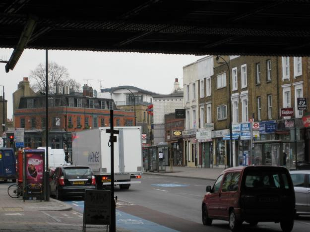 … and this way for Clapham North.
