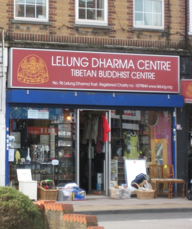 Lelung Dharma Centre: where Mr TubeforLOLs goes for spiritual replenishment.