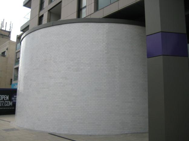 The Drum: commemorating the World War 11 Underground Shelter.