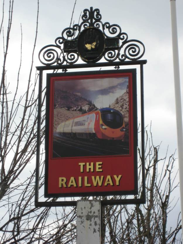 The Railway signpost
