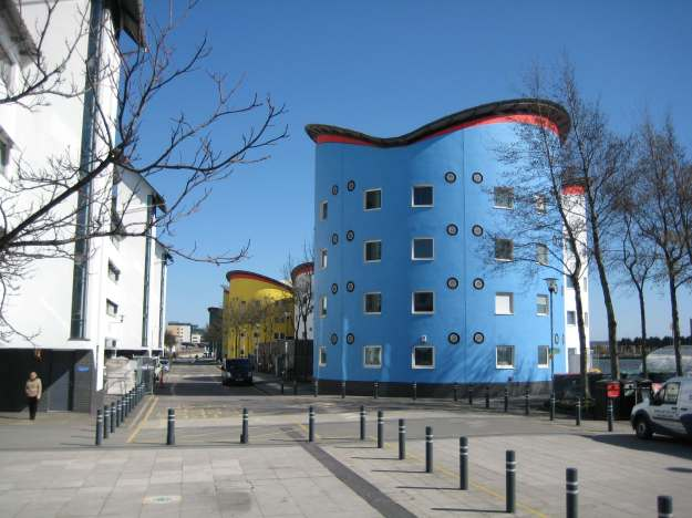 University of East London: Alas, I have no information about what pharmaceuticals the architect was taking at the time.