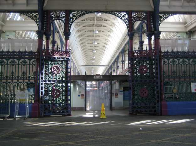 Smithfield: more fretwork than Eric Clapton.