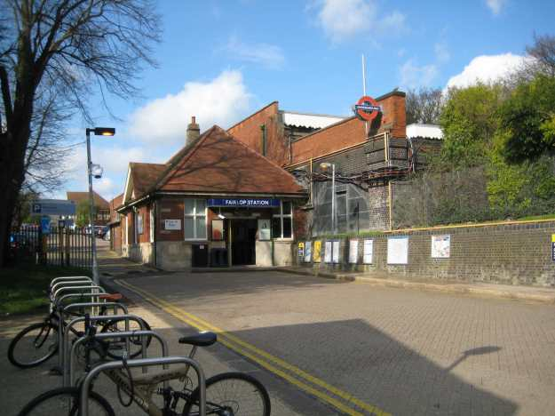 Fairlop Station.
