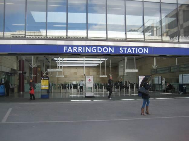 One Brand New Tube Station.