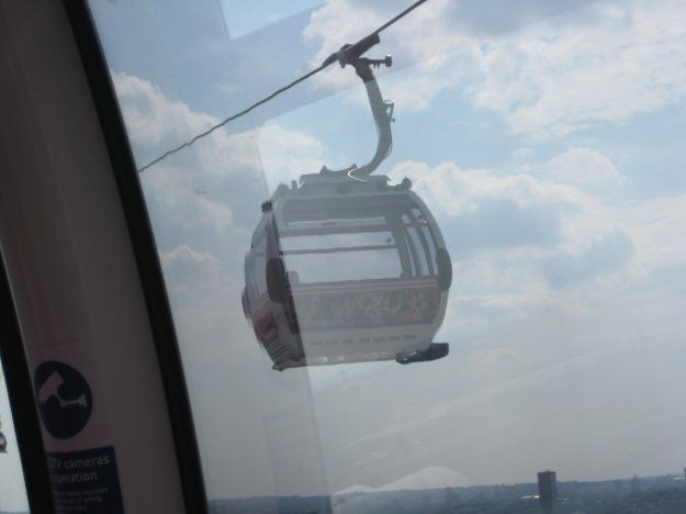 The Cable Car is held on by a finger-nail.