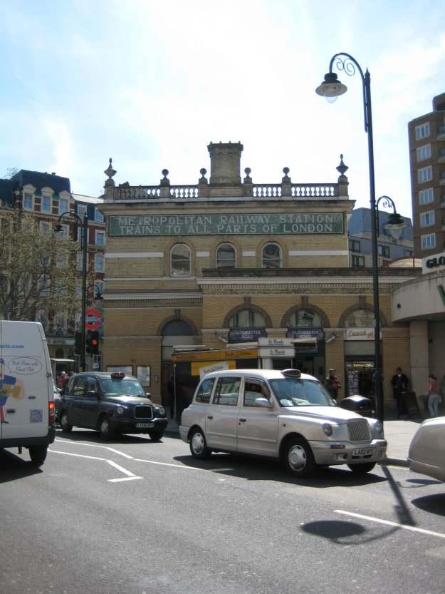 Gloucester Road station: spot the lie.