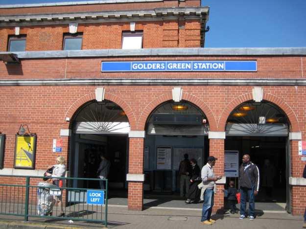 Golders Green station.