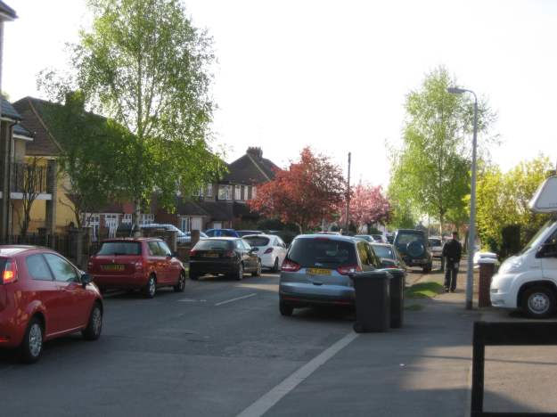 Grange Hill: one of many residential streets.