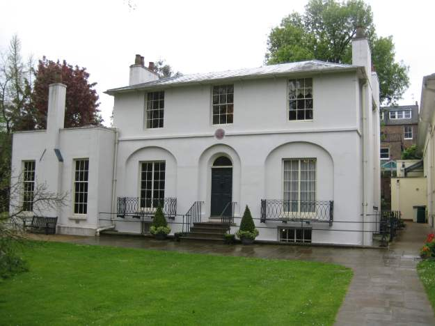 Keats House: hallowed ground eventually visited.