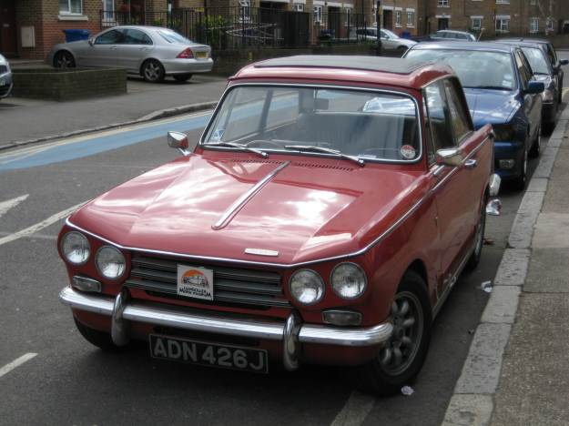 Triumph Vitesse: Mr TubeforLOLs tries to live with the contradictions of capitalism.