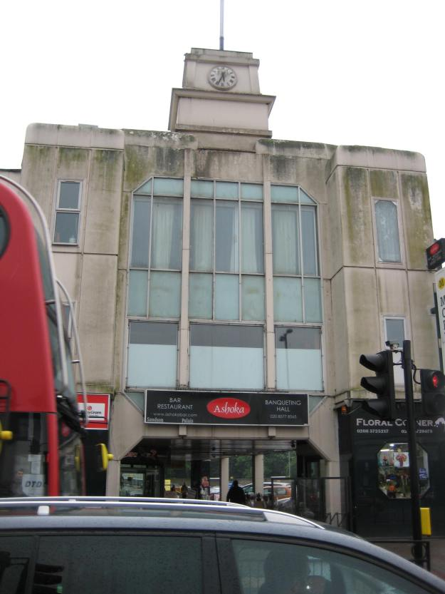 Hounslow West: another ugly building. There's a Morrisons hiding behind it which shows that ugliness isn't skin-deep.