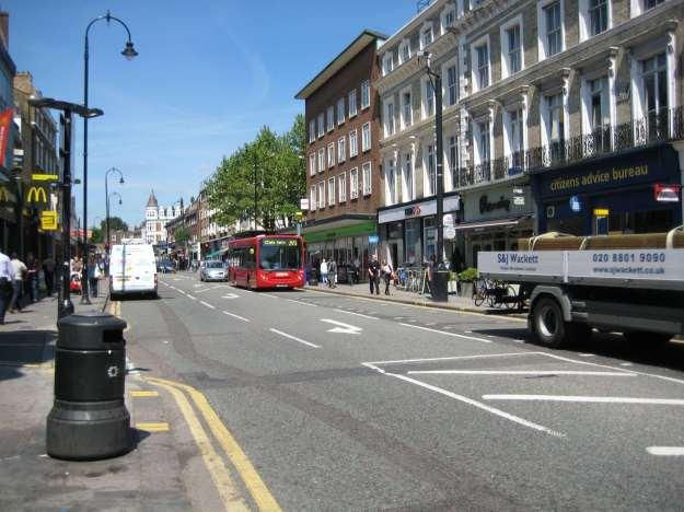 Kentish Town High Street.