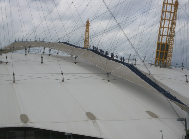 North Greenwich #276 Things Not To Do Before You Die - Climb the O2.
