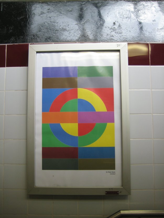 No Wallingers found at Moor Park. Instead, Sir Peter Blake: Untitled.