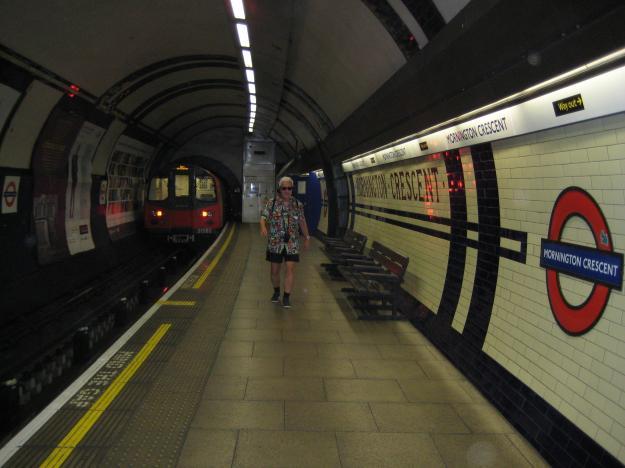 Mr TubeforLOLs at Mornington Crescent.