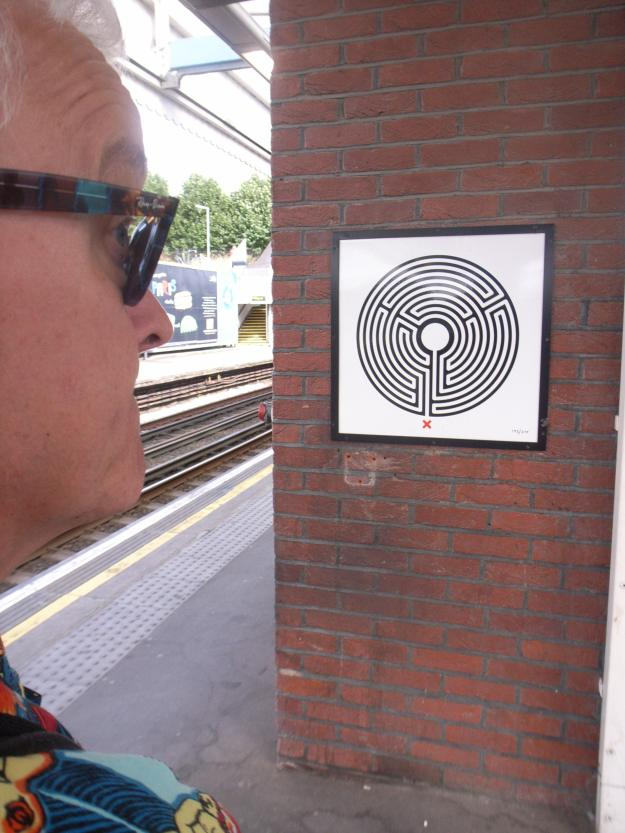The Neasden Labyrinth. Now, how do we get out of here?