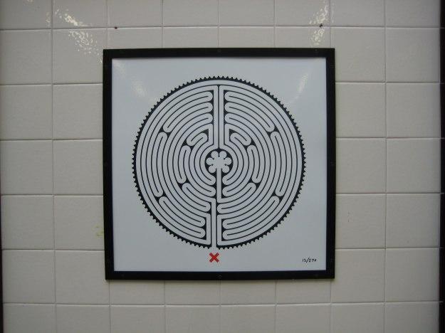 Diagrammatic illustration of Mr TubeforLOLs' brain. Retrieved from North Harrow station.