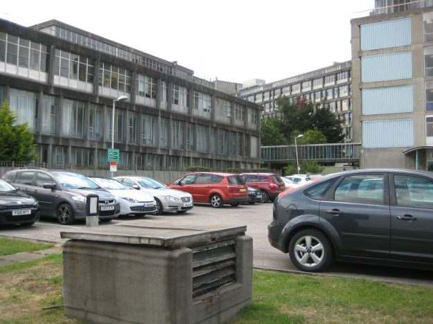Northwick Park Hospital: the Platonic ideal of the Ugly Hospital.