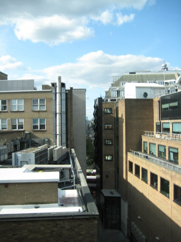 View from The Photographers' Gallery north over Oxford Street.