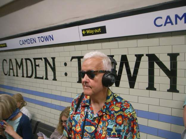 Mr TubeforLOLs at Camden Town: tension mounting.