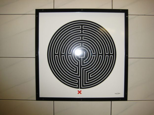Labyrinth number three: but is it at Monument or Bank or the limbo in-between?