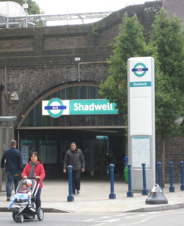 And Shadwell Tube Station Number Two.