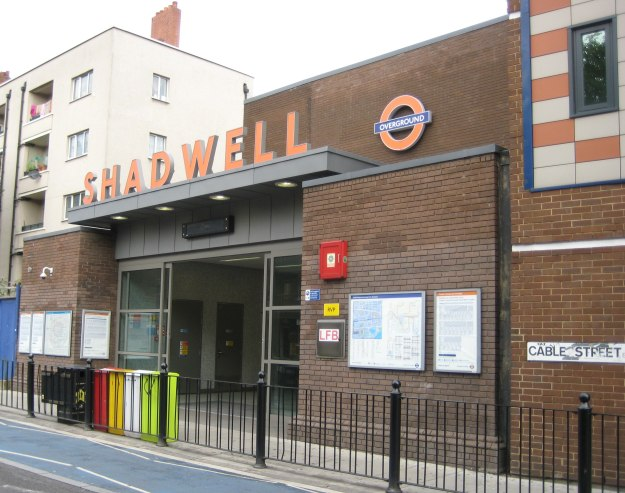 Shadwell Tube Station Number One.