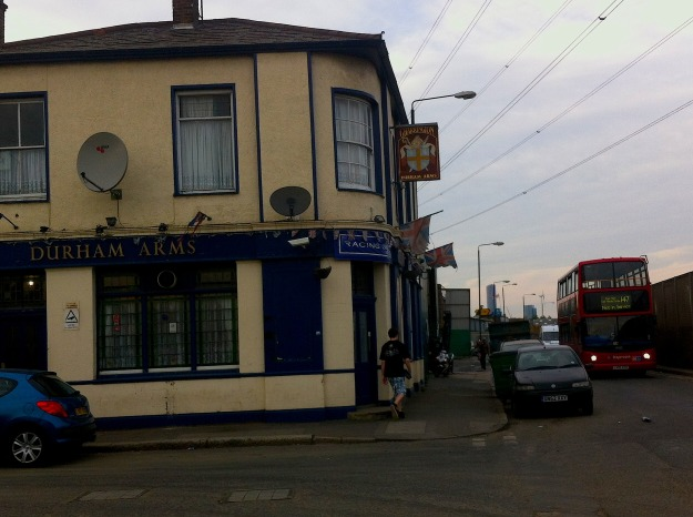 Another welcoming East End hostelry, another 147 Not in Service.