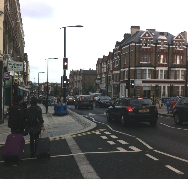 Sydenham Road - better than it used to be.