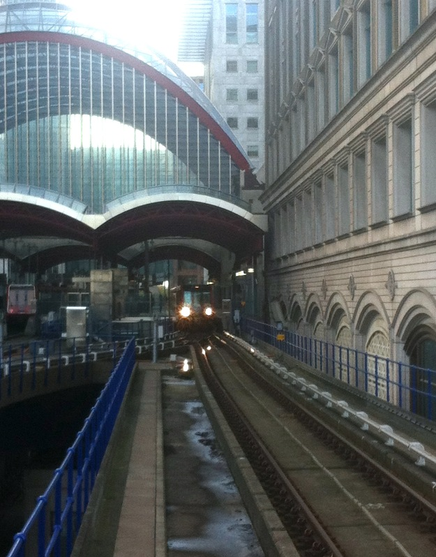 It takes 45 seconds from Canary Wharf to West India Quay: is this a record for the shortest journey on the Tube?