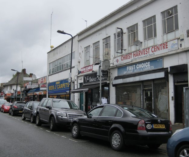 Turnpike Lane. Now which miserable parade of shops was this? Parade Number Four? Hmm, not sure.