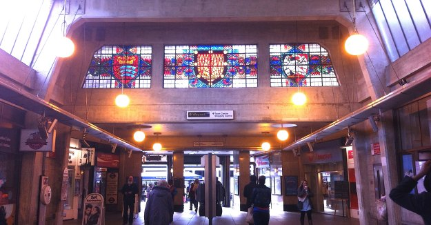 Uxbridge - fine station.