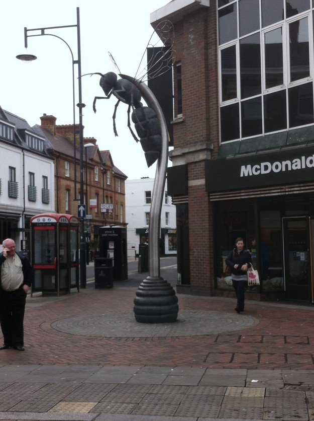 Watford High Street does Public Art.