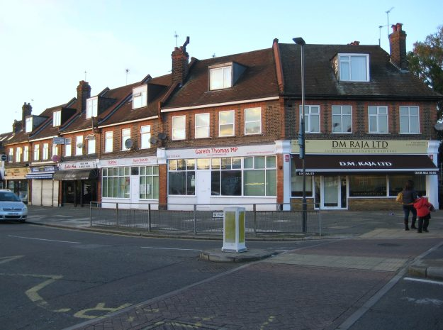 West Harrow: Definitely Not a Parade of Shops. Now what do we call a collective of politicians? A duck-house? A wallet?